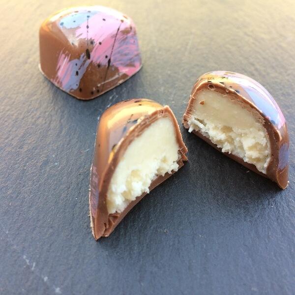 Kokos v mliečnej čokoláde