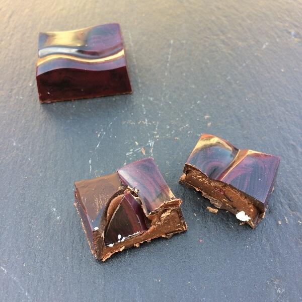 Čokoládový karamel v mliečnej čokoláde