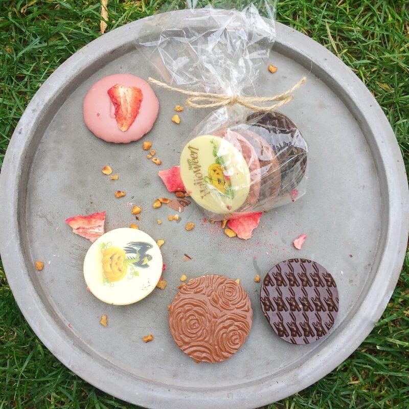Čokokrúžky 4ks + vlastný motív na bielej čokoláde