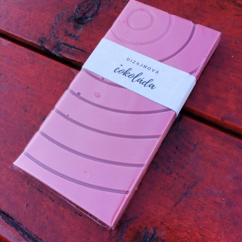 Dizajnová čokoláda s posypom – Ruby